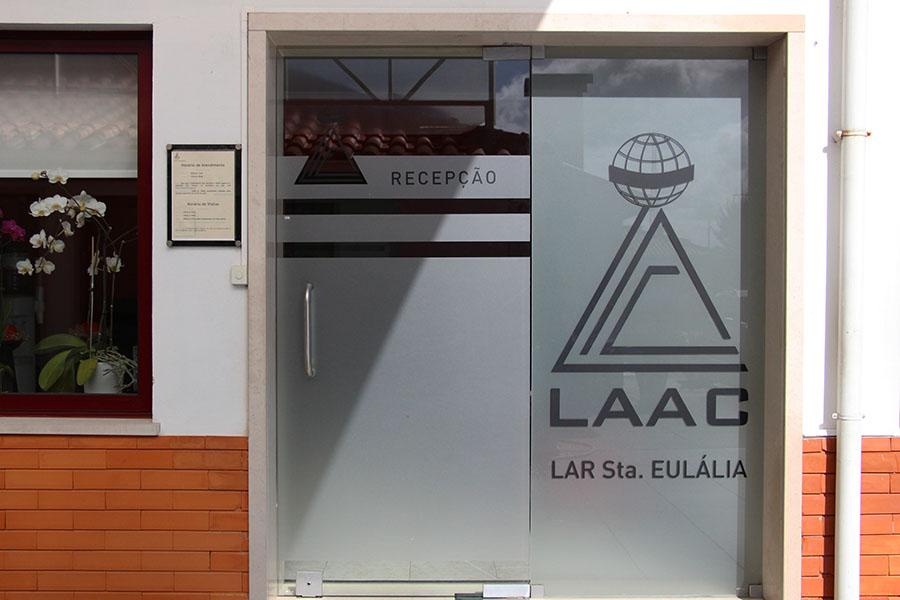 Entrada Lar LAAC