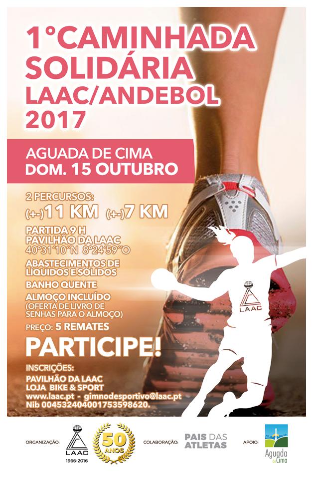 1ª Caminhada Solidária LAAC/Andebol 2017